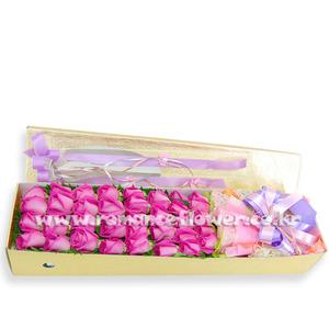 핑크장미박스 4호