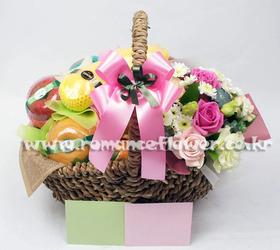 과일꽃바구니 16호